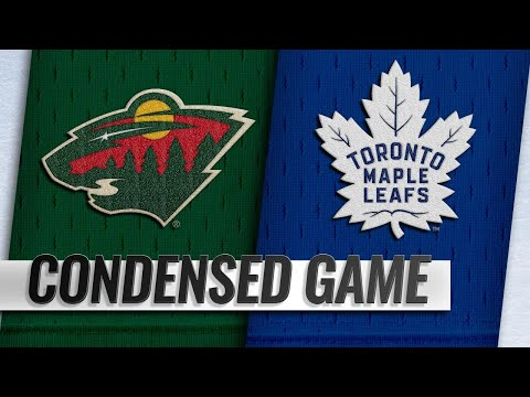 01/03/19 Condensed Game: Wild @ Maple Leafs