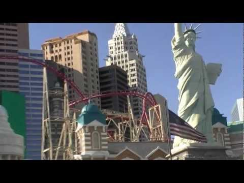 My trip to Las Vegas, Nevada. Strip Hotels and Fremont Street Experience (Part 2)  HD