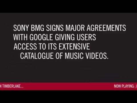 Sony Music Timeline