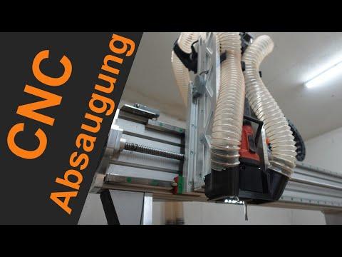 2-Punkt Absaugung für eine CNC Fräse