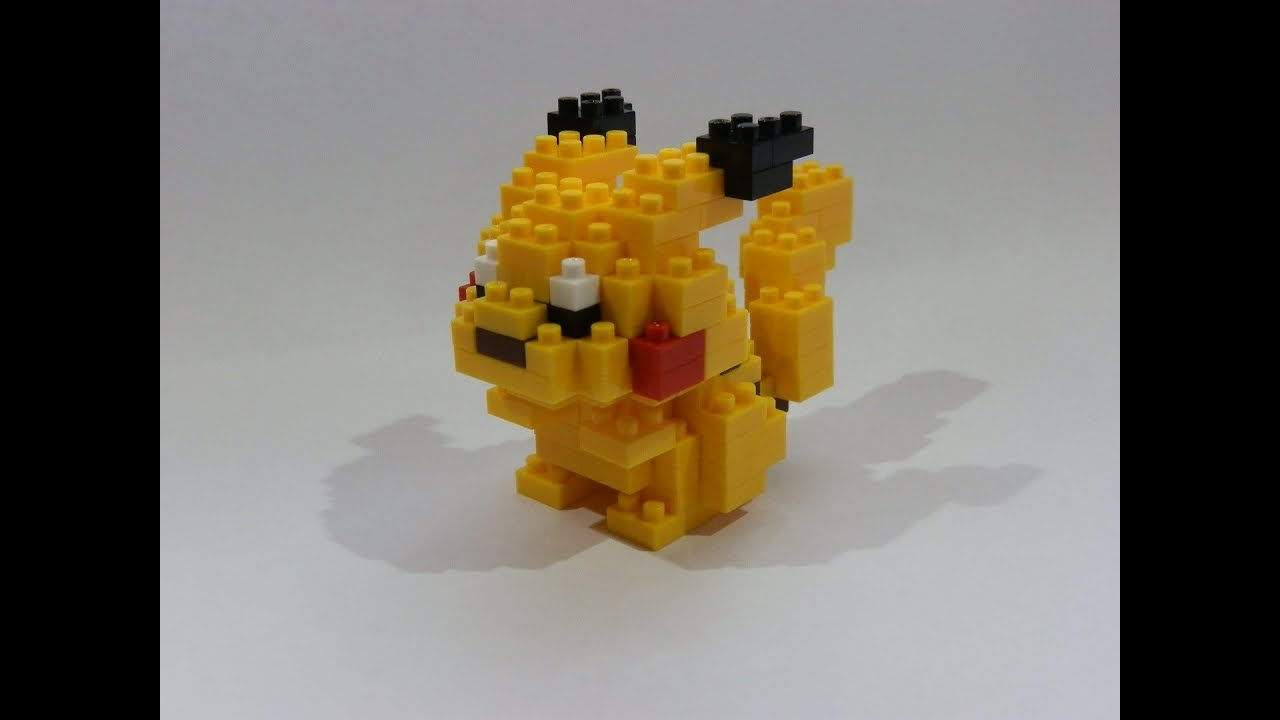Image result for nanoblock pikachu
