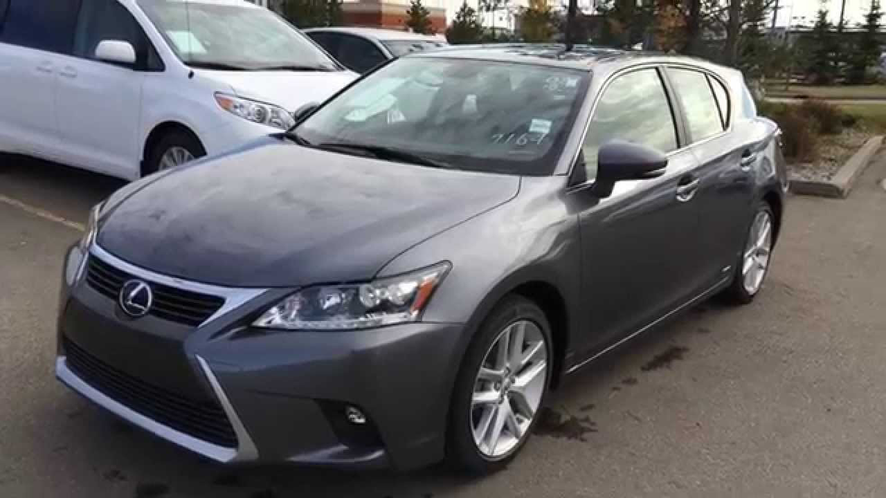 2015 lexus ct 200h hybrid touring package review west edmonton ab youtube. Black Bedroom Furniture Sets. Home Design Ideas