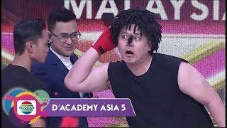 Pharacethamol Jagoan Muay Thai Tantang Megat Haikal..Hasilnya? - D'Academy Asia 5