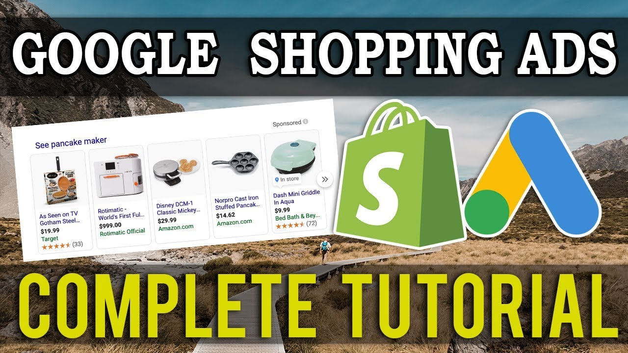 Shopify Google Shopping Ads Tutorial 2020 | Aliexpress Dropshipping Guide (FULL Setup)