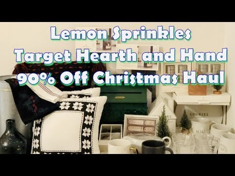 last huge target 90 off christmas clearance haul 2018 hearth hand with magnolia youtube. Black Bedroom Furniture Sets. Home Design Ideas