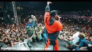 Diamond Platnumz - Live show in Sierra leone - 2019 (STADIUM)