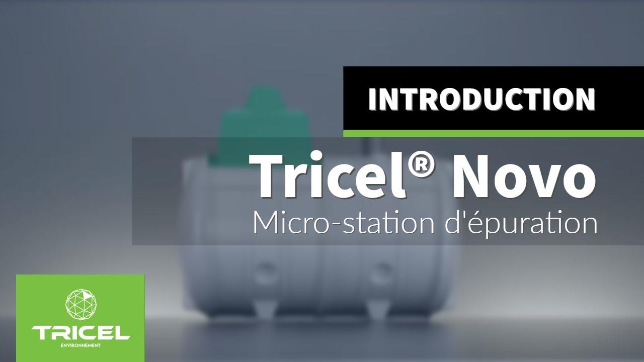 micro station d 39 puration tricel novo youtube. Black Bedroom Furniture Sets. Home Design Ideas
