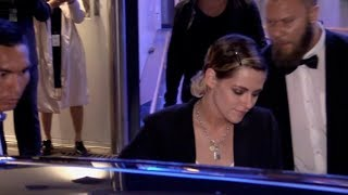 EXCLUSIVE : Kristen Stewart arriving at the palais des festival in Cannes