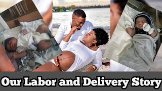 OUR UNEXPECTED LABOR AND DELIVERY EXPERIENCE | FIRST TIME MOM