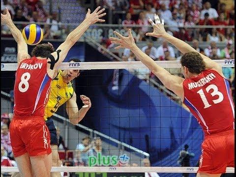 Волейбол чемпионат европы Кубок  Россия Бразилия  23 11 2013 1