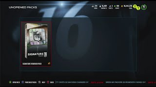 OMFG! 2.7 MILLION COINS Signature Pack Opening! PULL OF THE YEAR! Madden 16 Ultimate Team