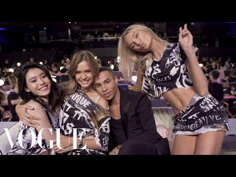 Download Youtube: Victoria's Secret Angels Get a Backstage Punk Makeover | Vogue