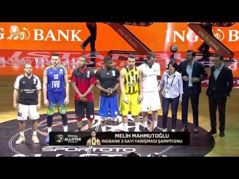 BSL All-Star 2017 ING Bank 3 Sayı Yarışması