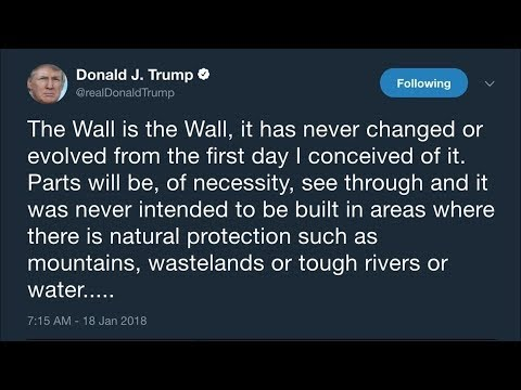 Donald Trump's Evolution On The Border Wall   Los Angeles Times