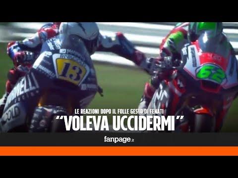 """Moto 2, Romano Fenati licenziato per aver tirato il freno di Manzi a Misano: """"Voleva uccidermi"""""""