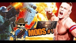 Fallout 4: Mods vol #1 | John Cena, Bebé Bomba Nuclear, Crear Munición y el Yermo antes de la Guerra