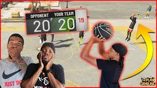 Trent Pulls Up With The Game On The Line! WILD Ending! (NBA 2K20 Park)