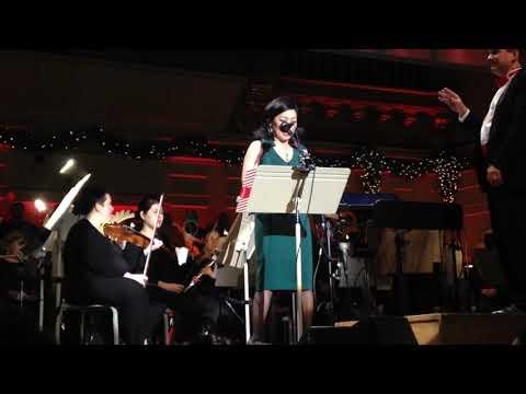 Janet Wu Boston Pops Night Before Christmas Narration