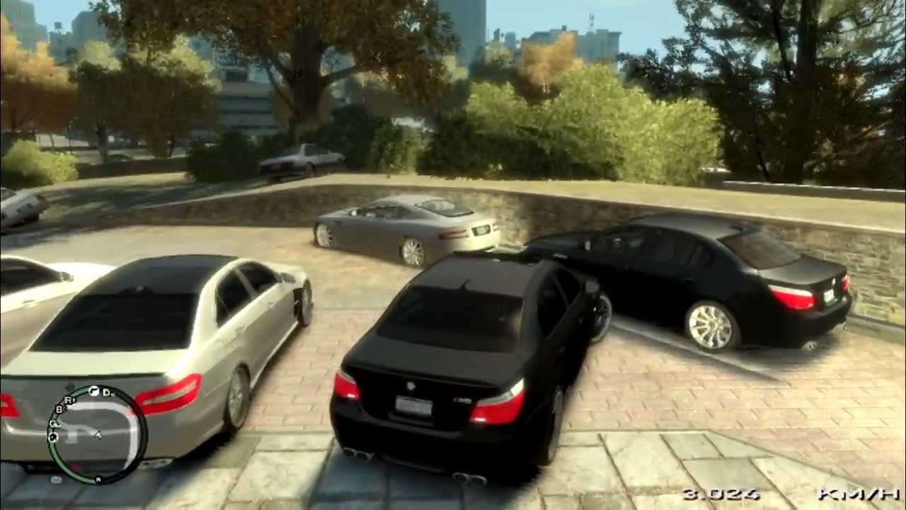 gta 4 my cars and bmw m5 hamann driving youtube. Black Bedroom Furniture Sets. Home Design Ideas