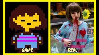 Undertale Characters In Real Life