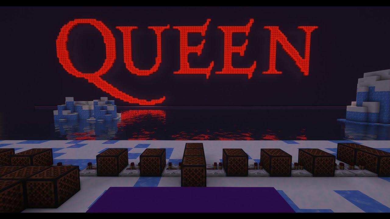 Queen - Somebody to Love [Minecraft Noteblocks]