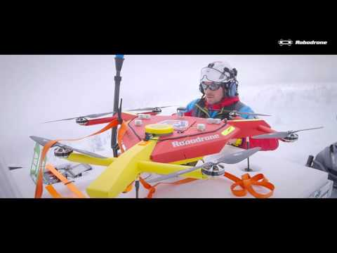 Mountain Rescue best video - Drone saves lives after avalanche / Horská služba používá dron