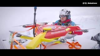 Mountain Rescue best video - Drone saves lives after avalanche / Horská služba používá dron