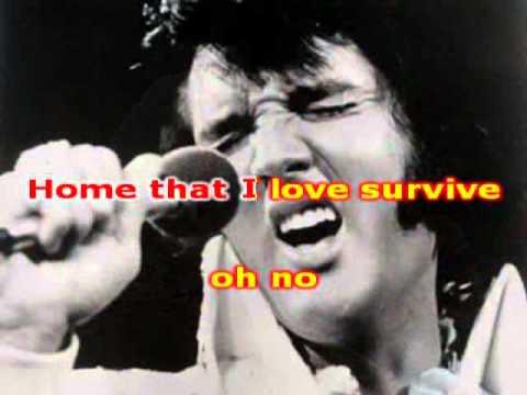 Elvis Presley - Suspicious Minds (karaoke-fair Use)