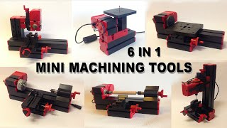 6 in 1 Mini Machining Tools, Unboxing and Assembly.