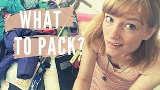 Glacier National Park - What to Pack