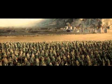 Battle Of The Pelennor Fields Charge Of The Rohirrim