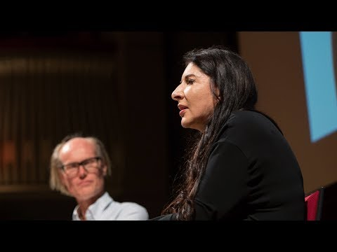 Marina Abramović on art, performance, time and nothingness