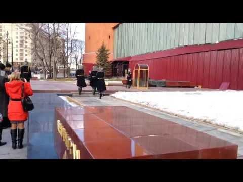 06 03 2015 Cambio della Guardia al Cremlino - Mosca - Changing of the Guard- Kremlin, Moscow