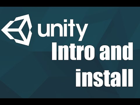 Unity3d - Intro and install