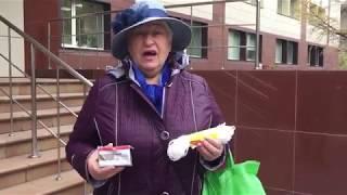 Российская пенсионерка подарила министру мыло и веревку!
