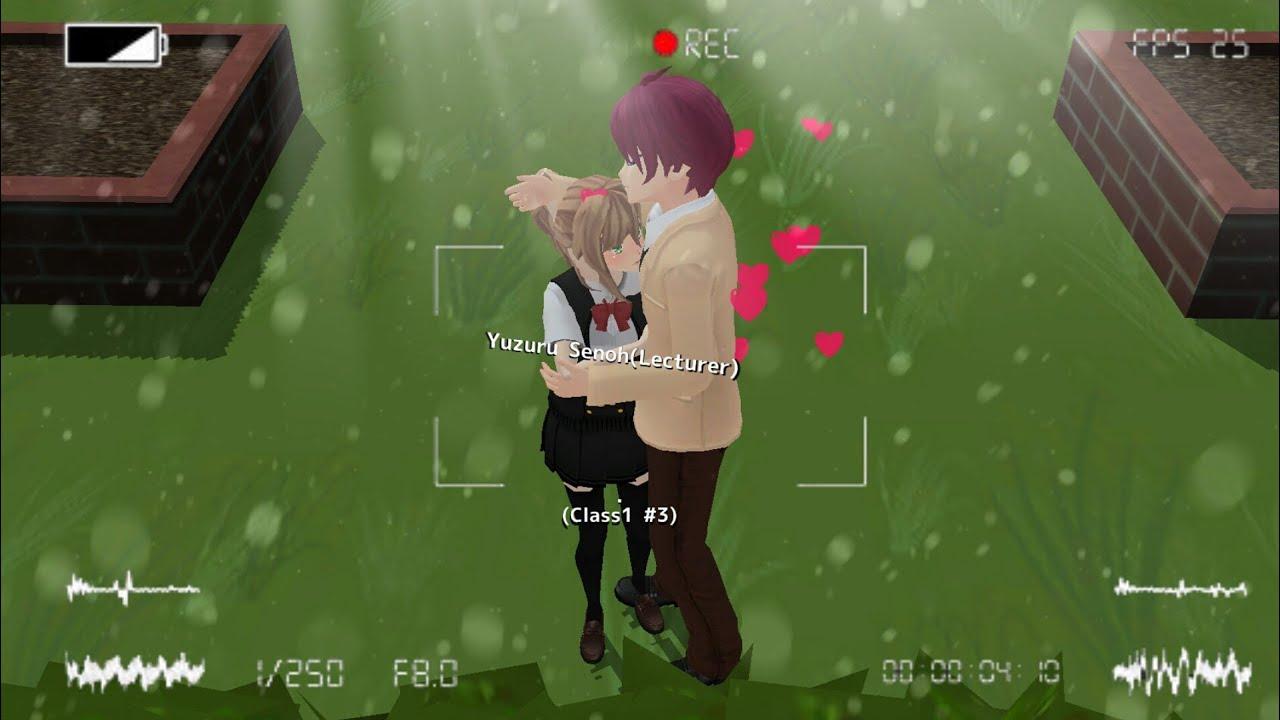 Schoolgirls Simulator: How to make a NPC kiss you (read desc)