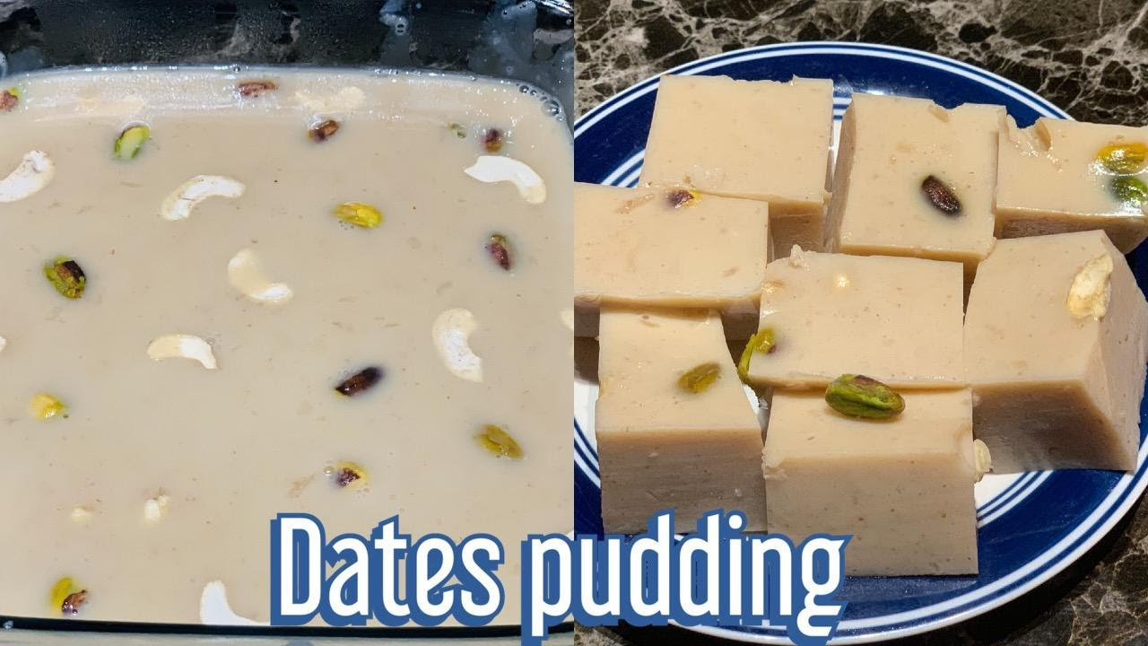 Download Simple Dates Pudding Recipe || China Grass with dates Recipe || Ghaas Ka Halwa  By Yummflix