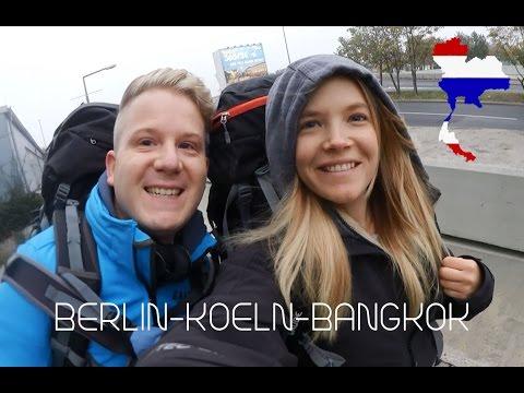 BERLIN-KÖLN-BANGKOK ABFLUG IN RICHTUNG AUSTRALIEN VLOG ROADTRIP N°1