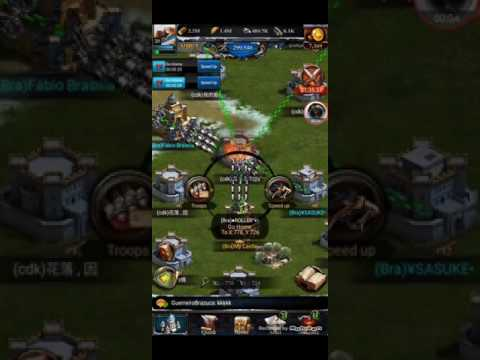 CLASH OF KINGS - Stealing 1 Billion Resources From Chinese BOT Farms