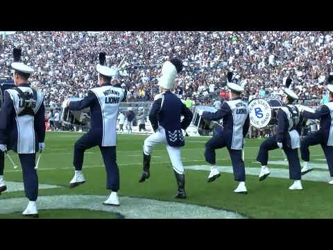 Watch Penn State's Blue Band take the field before the home opener