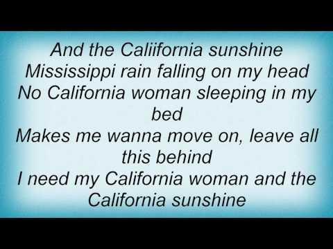 Roy Orbison - California Sunshine Woman Lyrics