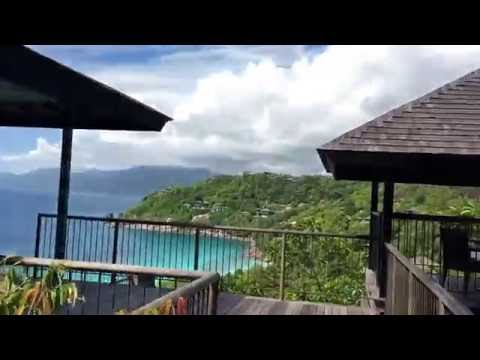 Tour of a Serenity Villa at the Four Seasons Resort Mahé, Seychelles
