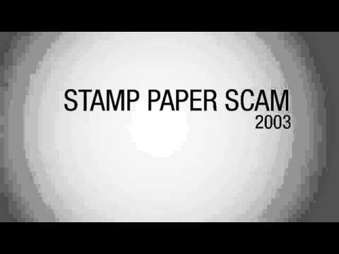Stamp Paper Scam Of India | Unbelievable