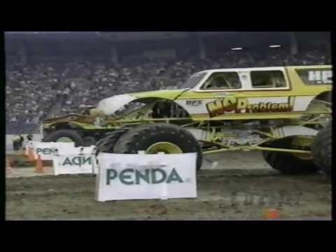 1992 PENDA Monster Truck Challenge RCA Dome