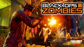 CALL OF DUTY: BLACK OPS 3 OFFICIAL ZOMBIES REVEAL TRAILER GAMEPLAY BREAKDOWN!