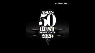 Asia's 50 Best Restaurants — Singapore