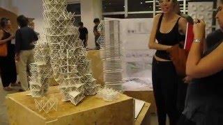 Di Tella Arquitectura - Primera exhibición abierta