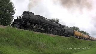 Union Pacific's Big Boy 4014 - Mason City to Saint Paul run