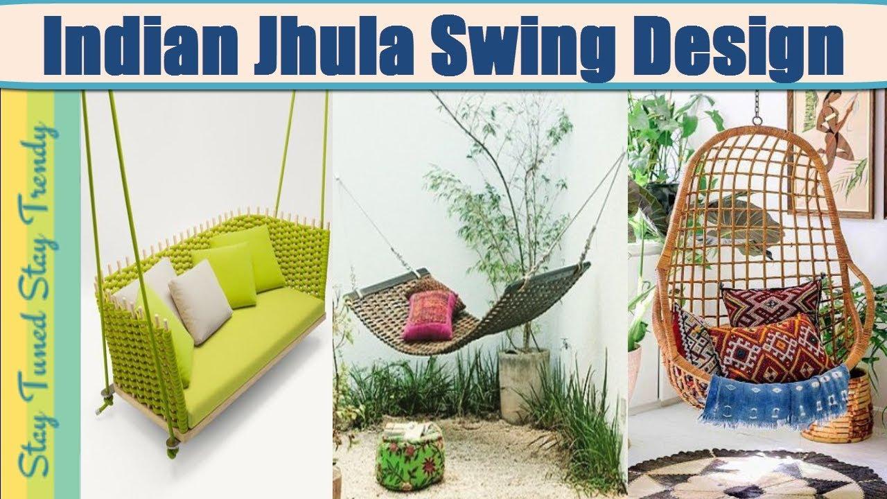Top Designer Jhula Swing Design For Indian Home Balcony Macrame
