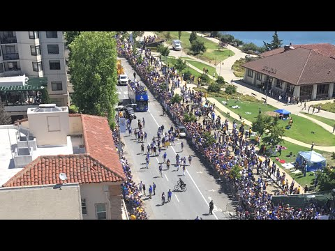 WARRIORS HD LIVE PARADE OAKLAND